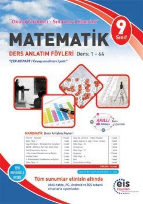 9. Sınıf  MATEMATİK Föyleri Eis Yayınları