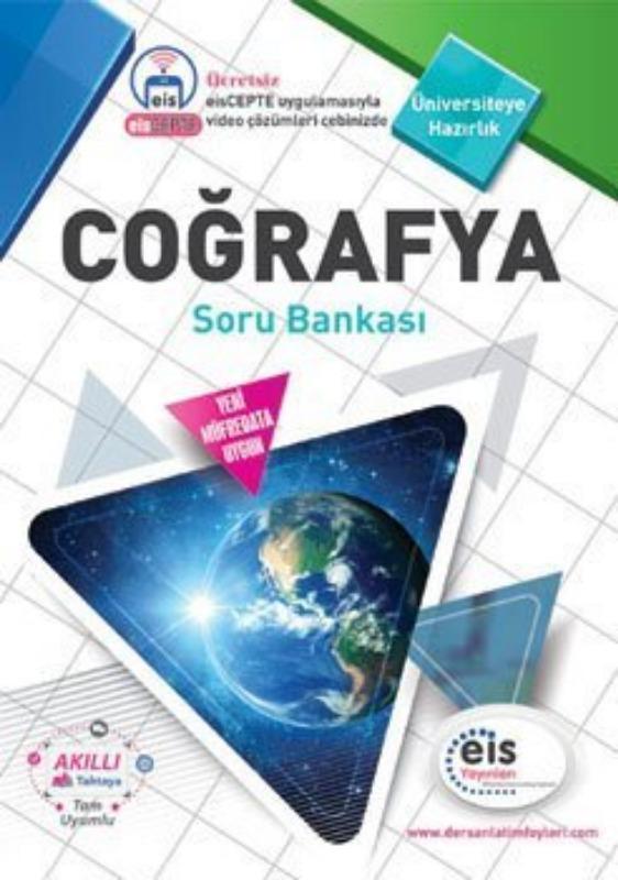COĞRAFYA Soru Bankası  Üniversite Sınavlarına H. Ders Anlatım Föyleri Eis Yayınları