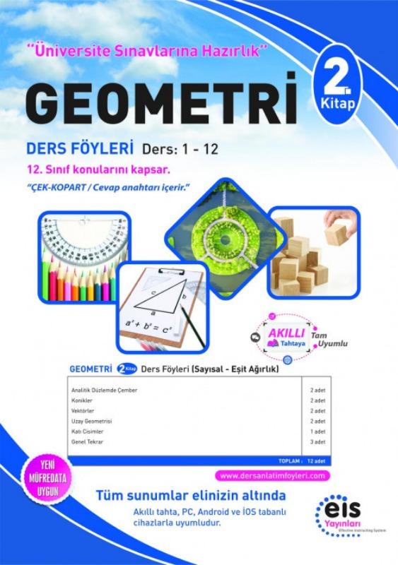 GEOMETRİ  2. Kitap Üniversite Sınavlarına H. Ders Anlatım Föyleri Eis Yayınları