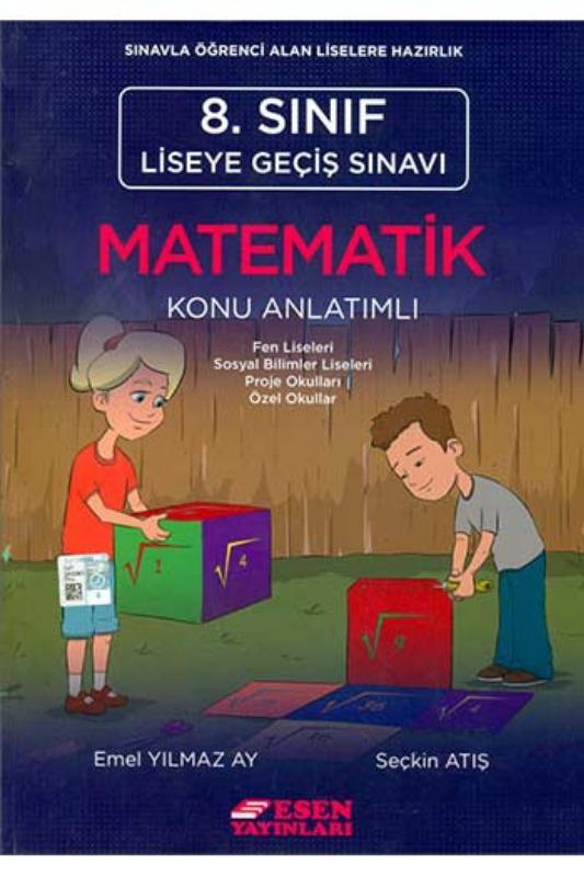 Esen Yayinlari 8. Sinif LGS Matematik Konu Anlatimli