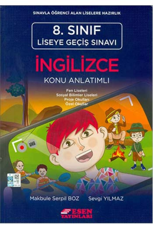 Esen Yayınları 8. Sınıf LGS İngilizce Konu Anlatımlı