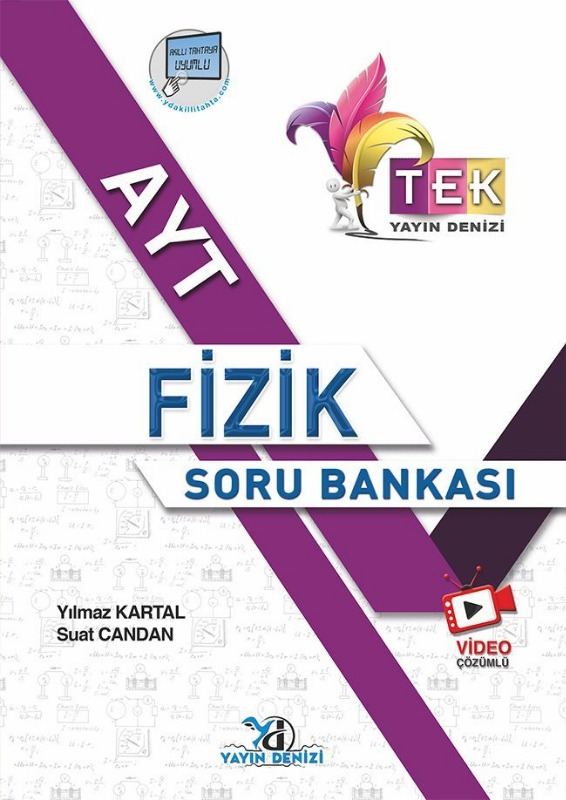 AYT Fizik TEK Serisi Video Çözümlü Soru Bankası Yayın Denizi Yayınları