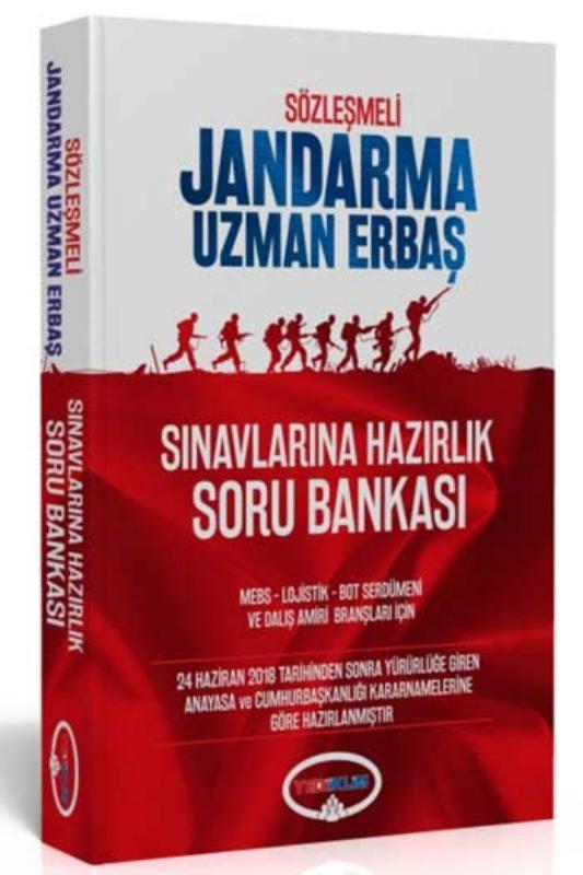 Yediiklim  Sözleşmeli Jandarma Uzman Erbaş Sınavlarına Hazırlık Soru Bankası