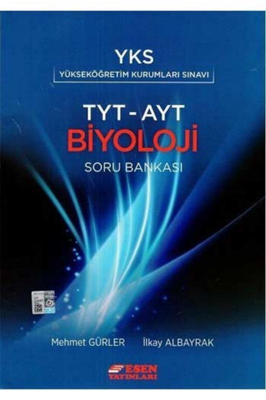 Esen Yayinlari Tyt Ayt Biyoloji Soru Bankasi