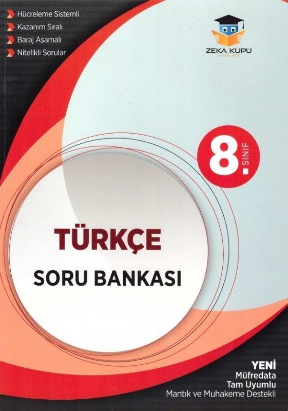 8. Sınıf Türkçe Soru Bankası Zeka Küpü Yayınları
