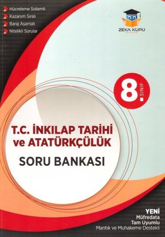 8.Sınıf İnkilap Tarihi ve Atatürkçülük Soru Bankası Zeka Küpü Yayınları