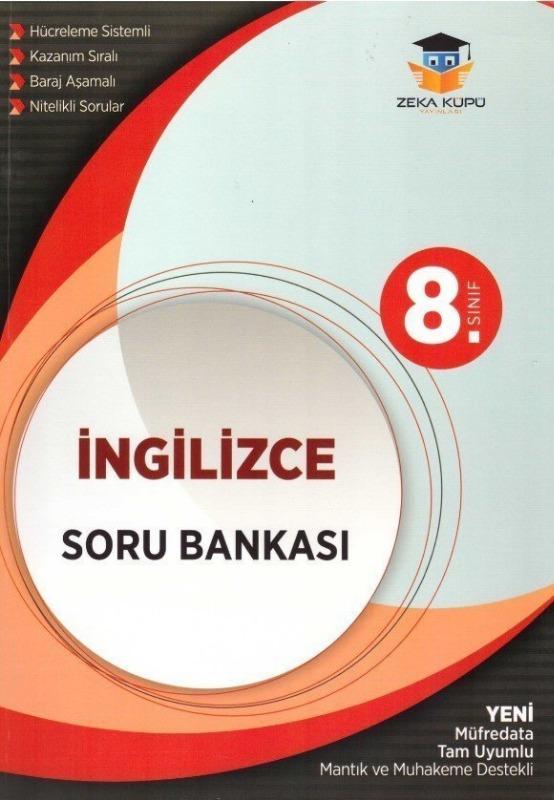 8. Sınıf İngilizce Soru Bankası Zeka Küpü Yayınları