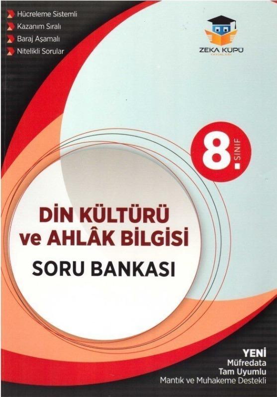 8.Sınıf Din Kültürü ve Ahlak Bilgisi Soru Bankası Zeka Küpü Yayınları