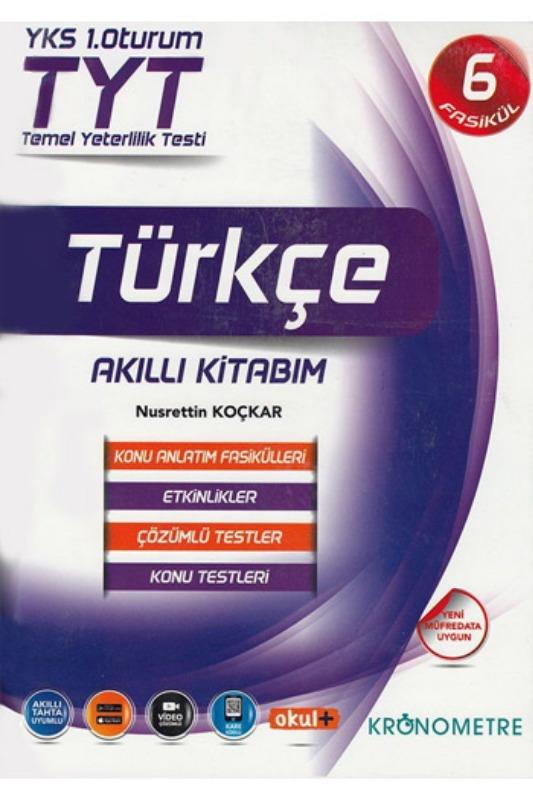 Kronometre Yayınları TYT Türkçe Akıllı Kitabım Konu Anlatım Fasikülleri