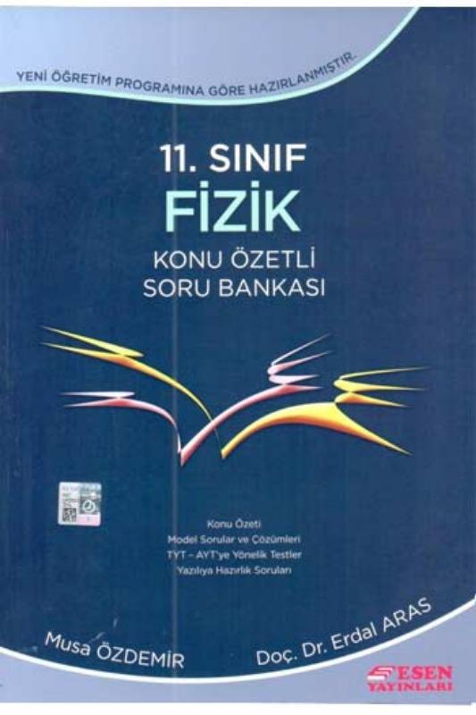 Esen Yayinlari 11. Sinif Fizik Konu Özetli Soru Bankasi