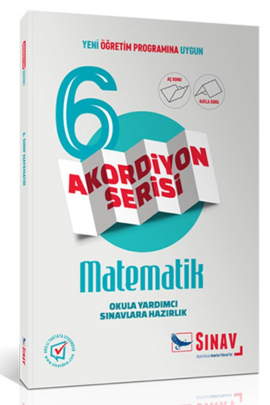 Sınav Yayınları 6. Sınıf Matematik Akordiyon Kitap