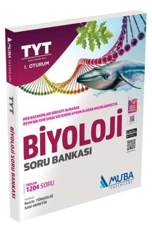 Muba Yayınları TYT 1. Oturum Biyoloji Soru Bankası