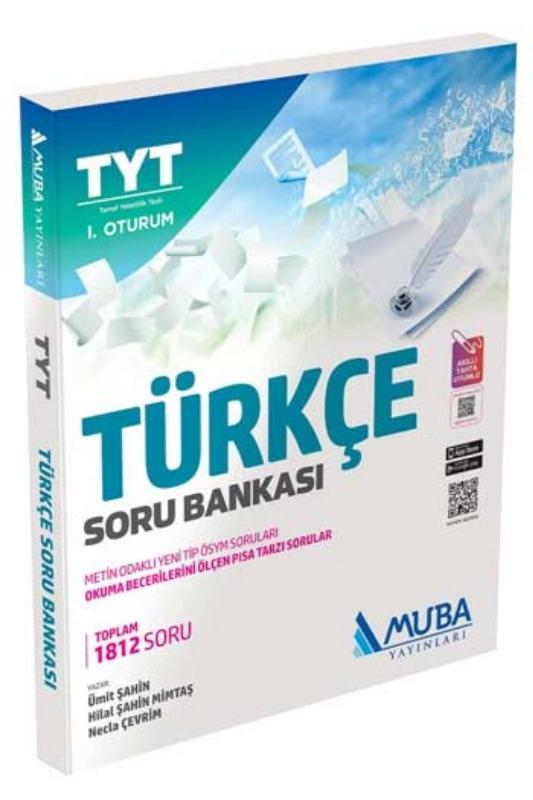 Muba Yayınları TYT 1. Oturum Türkçe Soru Bankası