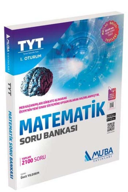 Muba Yayınları TYT 1. Oturum Matematik Soru Bankası