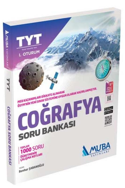 Muba Yayınları TYT 1. Oturum Coğrafya Soru Bankası