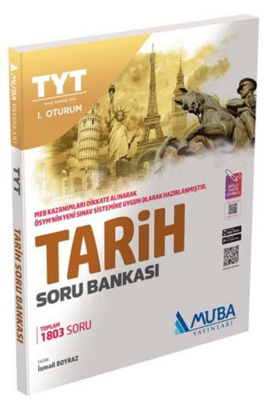 Muba Yayınları TYT 1. Oturum Tarih Soru Bankası
