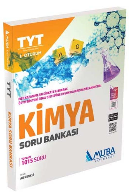 Muba Yayınları TYT 1. Oturum Kimya Soru Bankası