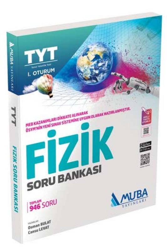 Muba Yayınları TYT 1. Oturum Fizik Soru Bankası