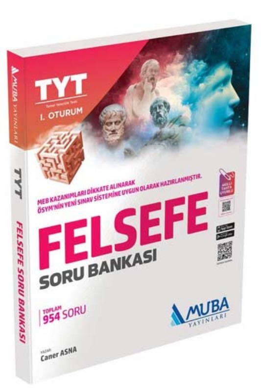 Muba Yayınları TYT 1. Oturum Felsefe Soru Bankası