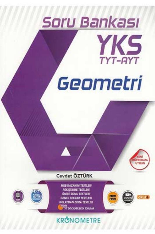 Kronometre Yayınları TYT AYT Geometri Soru Bankası