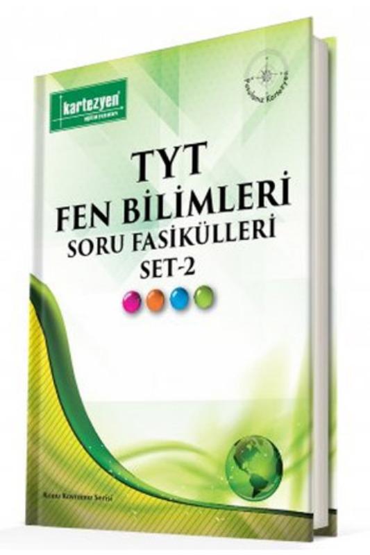 Kartezyen Yayınları TYT Fen Bilimleri Soru Fasikülleri Set 2