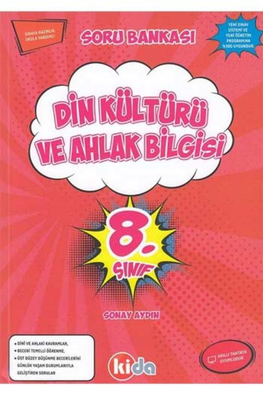 Kida Yayınları 8. Sınıf Din Kültürü ve Ahlak Bilgisi Soru Bankası