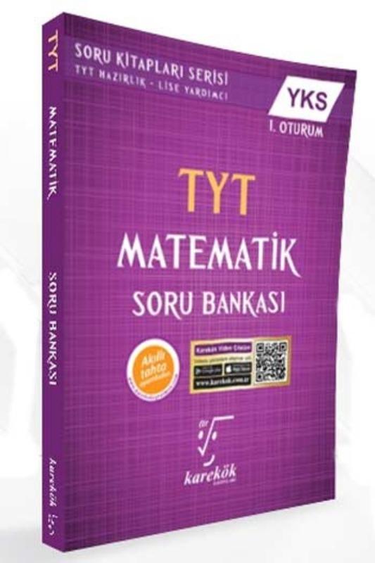 Karekök Yayinlari YKS 1. Oturum TYT Matematik Soru Bankasi