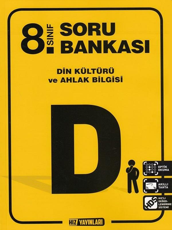 8.Sınıf Din Kültürü ve Ahlak Bilgisi Soru Bankası Hız Yayınları