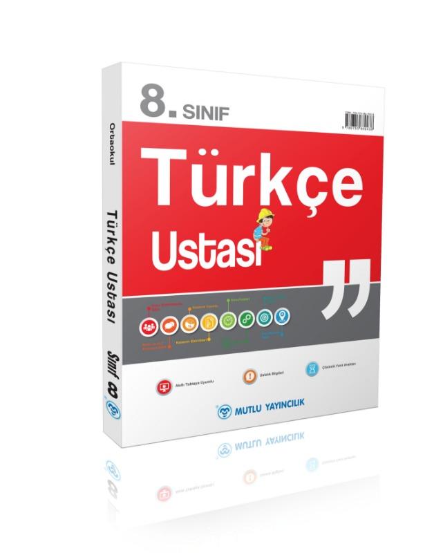 8.Sınıf  Türkçe Ustası Soru Bankası Mutlu Yayınları