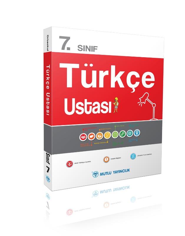 Türkçe Ustası Soru Bankası  7.Sınıf Mutlu Yayınları