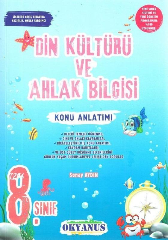 8.Sınıf Din Kültürü ve Ahlak Bilgisi Konu Anlatımı Okyanus Yayınları