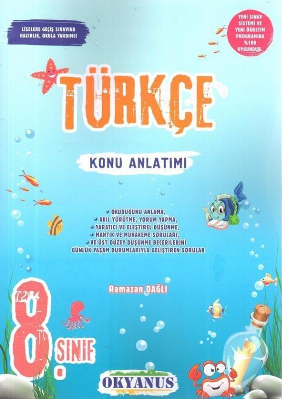 8.Sınıf Türkçe Konu Anlatımı Okyanus Yayınları