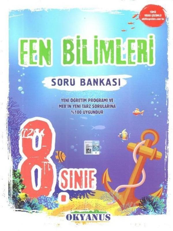 8.Sınıf Fen Bilimleri Soru Bankası Okyanus Yayınları