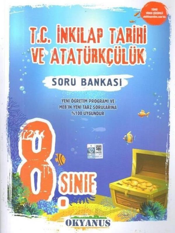 8.Sınıf İnkılap Tarihi ve Atatürkçülük Soru Bankası Okyanus Yayınları