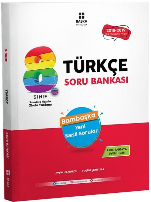 8.Sınıf LGS Türkçe Yeni Nesil Sorular Başka Yayıncılık