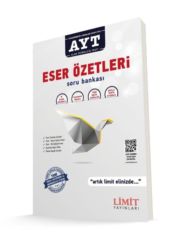 YKS AYT  Eser Özetleri Soru Bankası Limit Yayınları