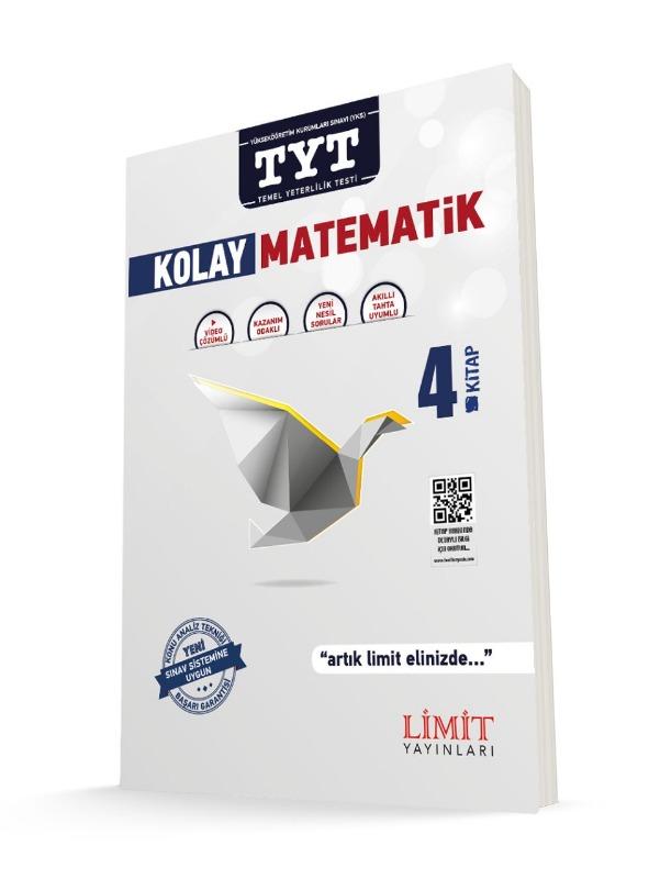TYT Kolay Matematik Soru Bankası 4.Kitap Limit Yayınları
