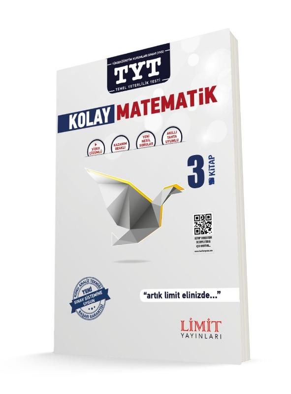 TYT Kolay Matematik Soru Bankası 3.Kitap Limit Yayınları