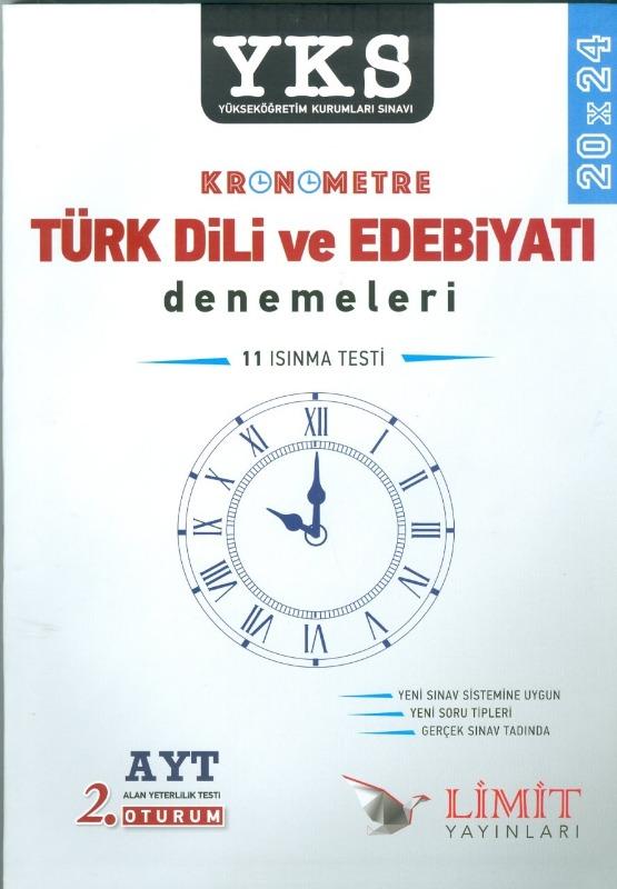 AYT Kronometre Türk Dili ve Edebiyatı Denemeleri Limit Yayınları