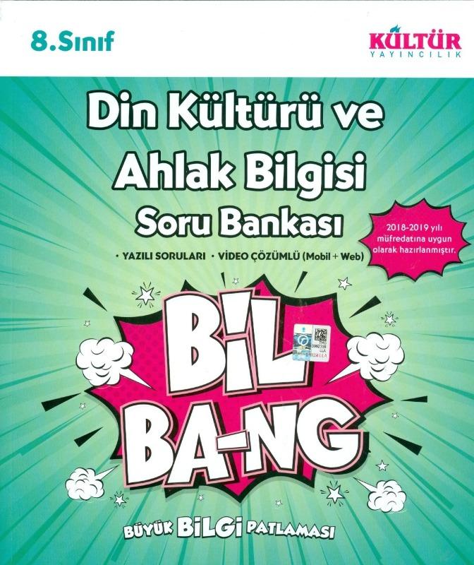 8.Sınıf Din Kültürü ve Ahlak Bilgisi Soru Bankası Kültür Yayıncılık