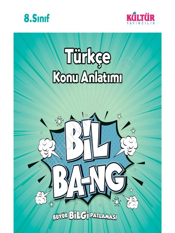 8.Sınıf Türkçe Konu Anlatım Kültür Yayıncılık