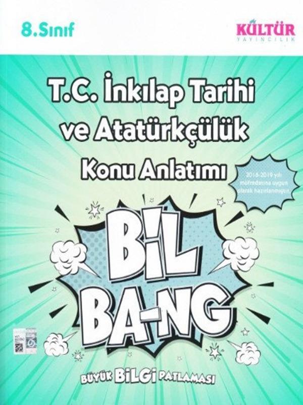 8.Sınıf T.C. İnkılap Tarihi ve Atatürkçülük Konu Anlatımı Kültür Yayıncılık