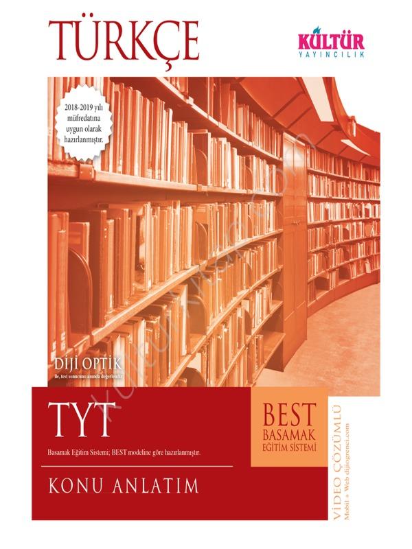 TYT Türkçe Konu Anlatım Kültür Yayıncılık