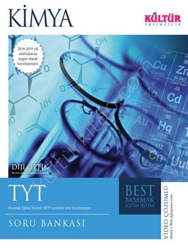 TYT Kimya Soru Bankası Kültür Yayıncılık