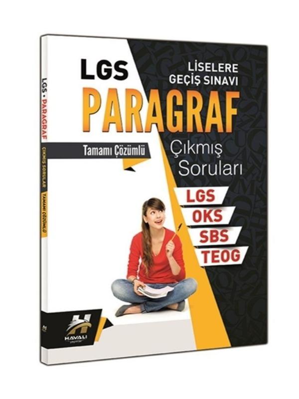 LGS Paragraf Tamamı Çözümlü Çıkmış Sorular Çanta Yayınları
