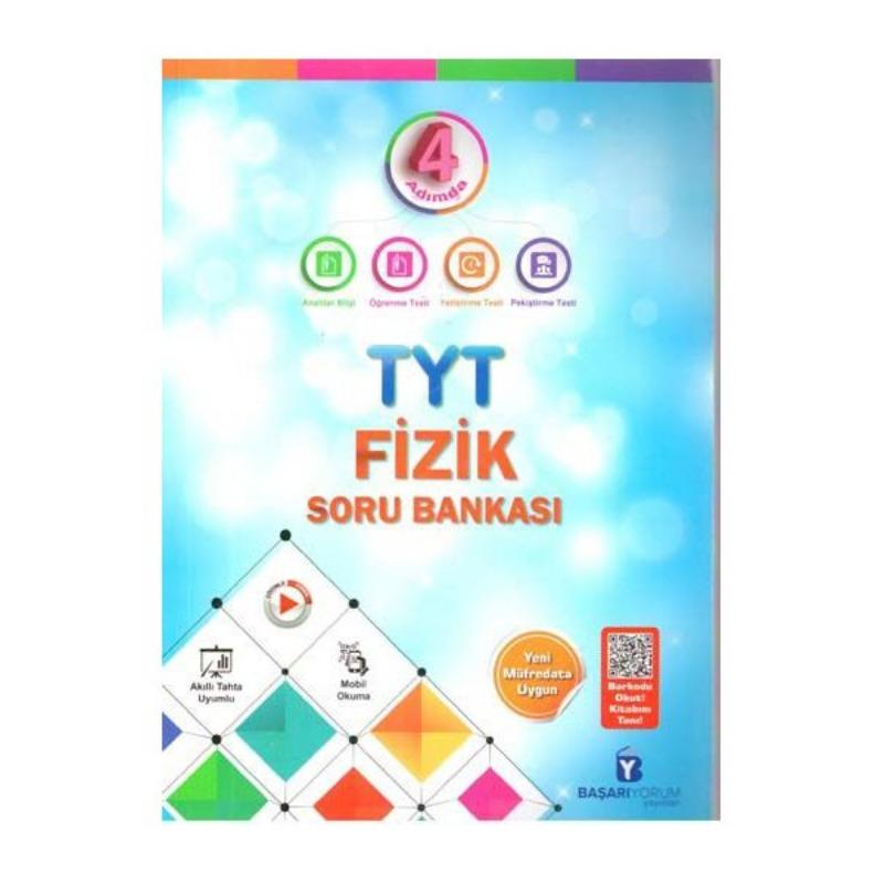 Başarıyorum Yayınları TYT 4 Adımda Fizik Soru Bankası