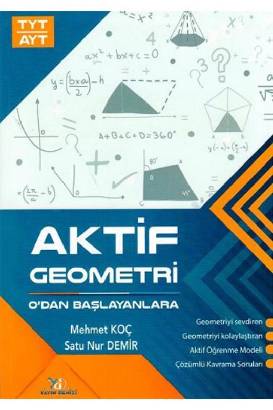 Yayın Denizi Yayınları TYT AYT Aktif Geometri Sıfırdan Başlayanlara