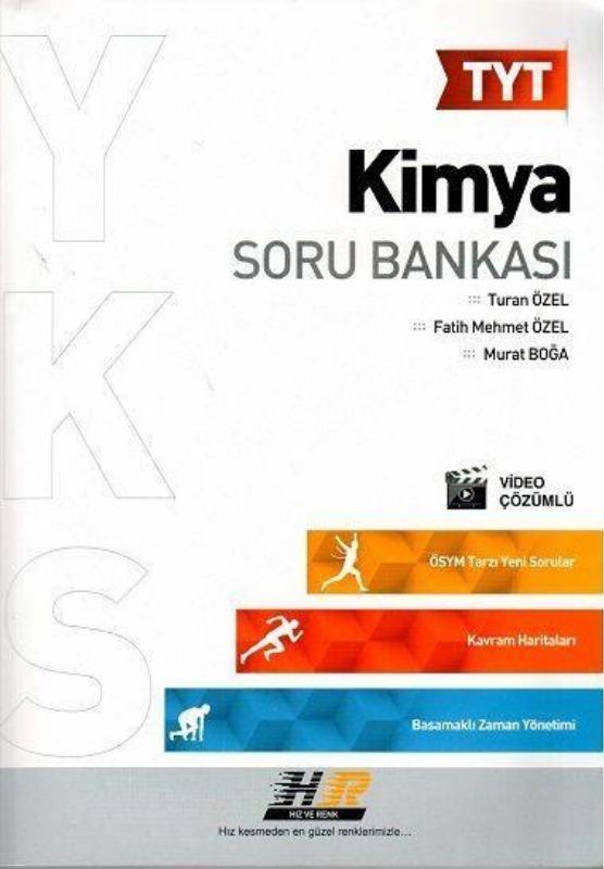TYT Kimya Soru Bankası Hız ve Renk Yayınları