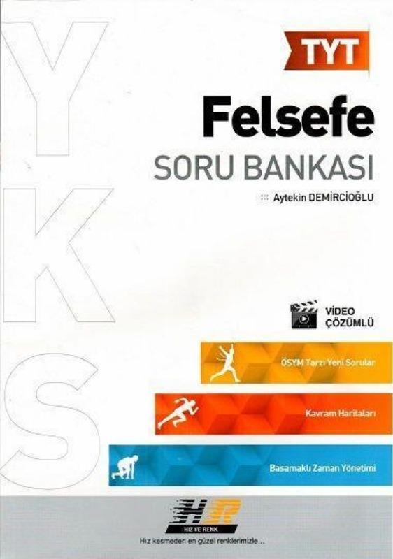 TYT Felsefe Soru Bankası Hız ve Renk Yayınları