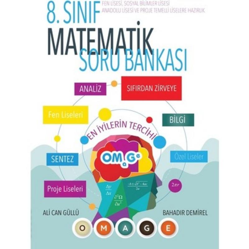 8. Sınıf Omage Matematik Soru Bankası Fen Liselerine Hazırlık
